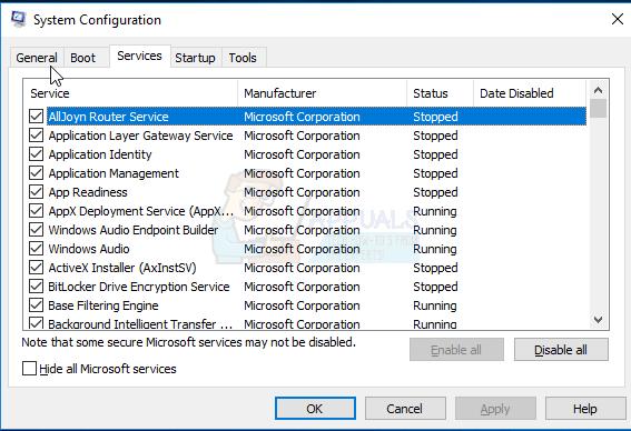 Fix: MSCONFIG speichert Änderungen unter Windows 10 nicht