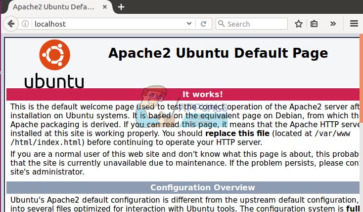 So installieren und konfigurieren Sie Apache Web Server unter Ubuntu / Debian