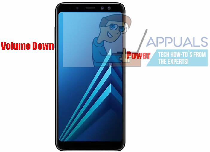 So machen Sie einen Screenshot auf dem Samsung Galaxy A8