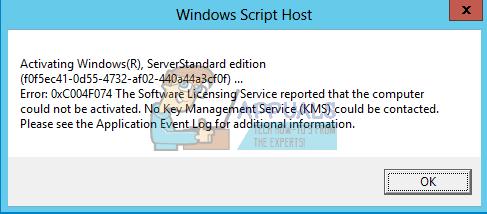 So beheben Sie den Office 2016-Aktivierungsfehlercode 0xC004F074