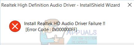 So beheben Sie den Fehler bei der Installation des Realtek HD-Audiotreibers