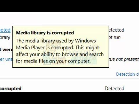 Fix: Medienbibliothek ist beschädigt