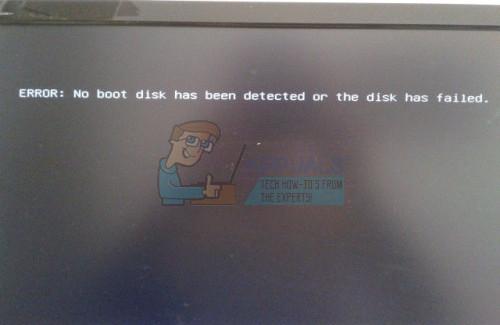 So beheben Sie, dass keine Startdiskette erkannt wurde oder die Diskette ausgefallen ist