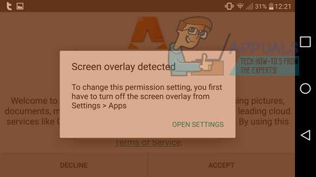 Gelöst: Bildschirmüberlagerung erkannt – Appuals.com
