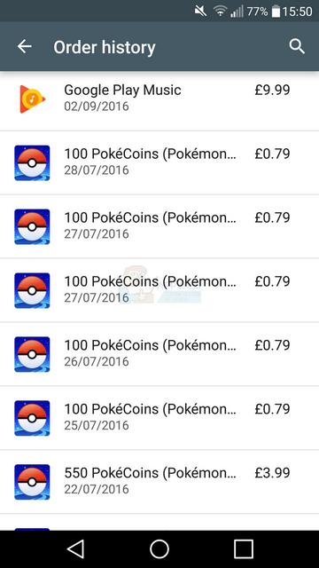 So finden Sie den Verlauf der bezahlten Apps und des In-App-Kaufs bei Google Play