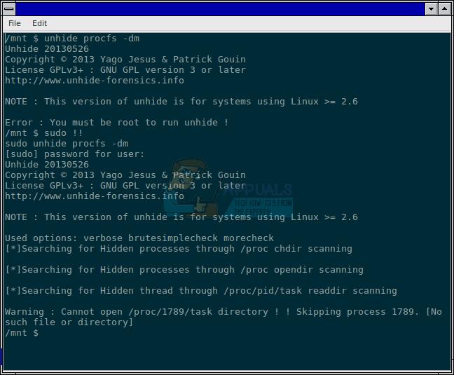 So wiederholen Sie einen vorherigen Befehl in der Befehlszeile unter Linux