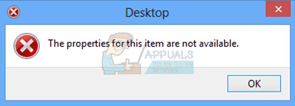 UPDATE: Die Eigenschaften für dieses Element sind nicht verfügbar