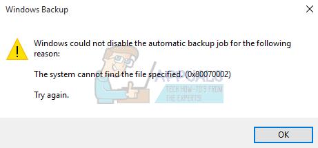 """Fehlerbehebung """"Das System kann die angegebene Datei nicht finden"""" Fehler 0x80070002"""