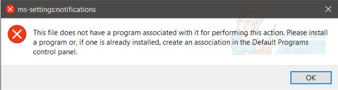 Fix: Dieser Datei ist kein Programm zum Ausführen dieser Aktion zugeordnet