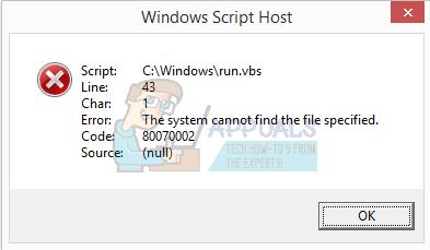 So beheben Sie Windows Script Host-Fehler beim Start