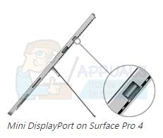 Standardmäßig wird Surface Pro 4 nach dem Booten oder Aufwachen auf den zweiten Monitor oder Bildschirm eingestellt