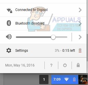 Zurücksetzen oder Powerwash eines Chromebooks auf die Werkseinstellungen