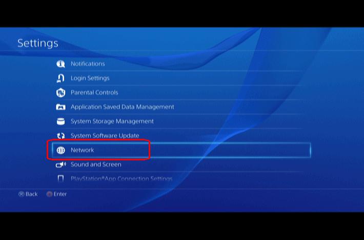 Weiterleiten von Ports für PS4 zum Online-Spielen