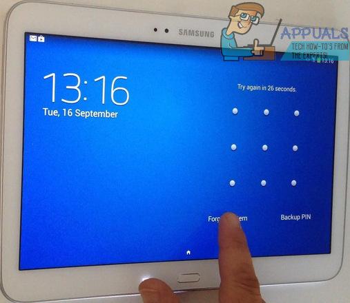 Gelöst: Das Passwort für Ihr Samsung Galaxy Tab wurde vergessen