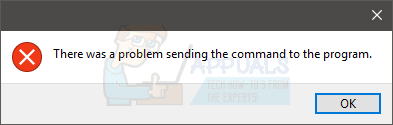 Fix: Problem beim Senden des Befehls an das Programm