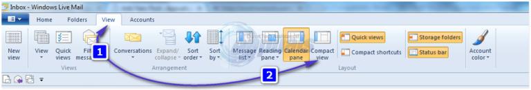 Fehlende oder verlorene Ordner in Windows Live Mail wiederherstellen