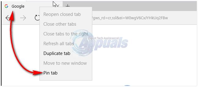 Gewusst wie: Anheften von Registerkarten an den Edge-Browser