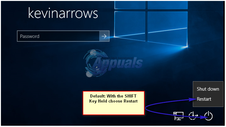 So starten Sie erweiterte Startoptionen in Windows 10