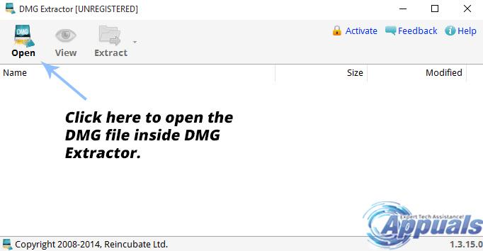 Gewusst wie: Öffnen Sie eine DMG-Datei in Windows
