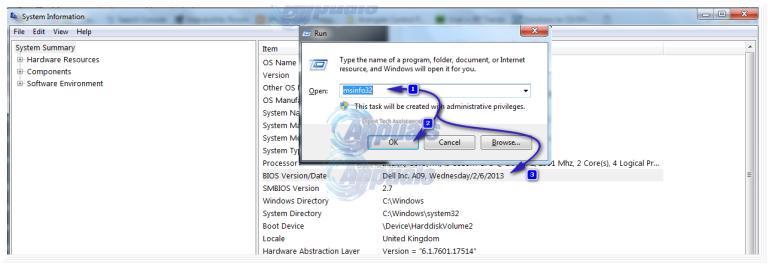 So aktualisieren Sie das BIOS auf einem HP Desktop / Laptop