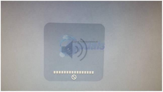 UPDATE: Die Lautstärke kann unter Mac OS X mit externen Geräten nicht angepasst werden