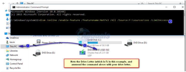 So führen Sie ein Downgrade auf .NET Framework 3.5 in Windows 10 durch