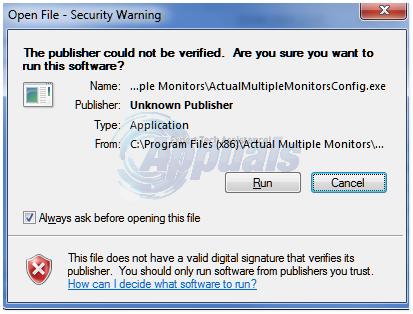 """So deaktivieren Sie """"Datei öffnen – Sicherheitswarnung"""" in Windows 7"""