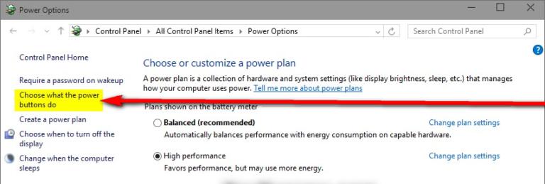 Windows 10 wird neu gestartet, anstatt heruntergefahren zu werden