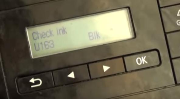UPDATE: U163 Überprüfen Sie den Tintenfehler auf Canon-Druckern