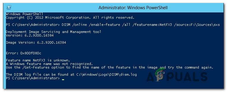 Fehler 0X800F080C unter Windows 10 beheben
