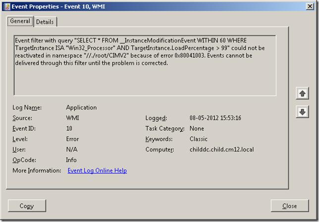 Schritte zum Beheben des Fehlers 0x80041003