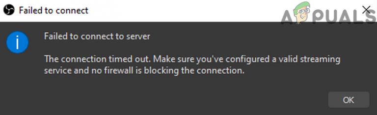 [SOLVED] OBS konnte keine Verbindung zum Server herstellen