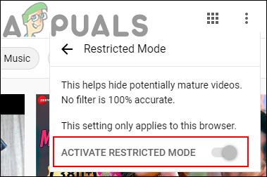 So aktivieren und deaktivieren Sie den eingeschränkten YouTube-Modus in Microsoft Edge?