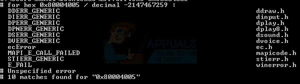 Gelöst: So beheben Sie den Fehler 0x80004005