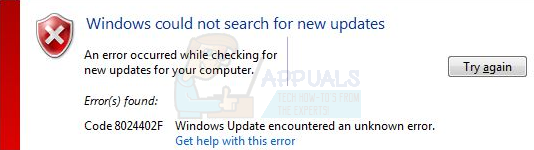 So beheben Sie den Windows Update-Fehler 8024402F