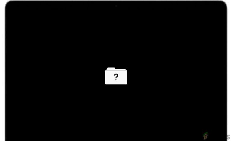 So beheben Sie einen blinkenden Mac-Ordner mit einem Fragezeichen