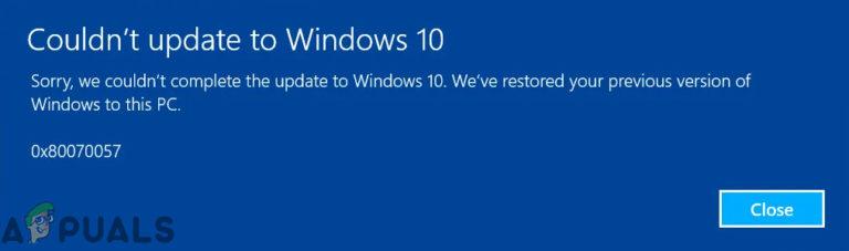 Beheben von Windows Update-Fehler 0x80070057 (einfache Fehlerbehebung)