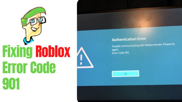 So beheben Sie den Roblox-Fehlercode 901