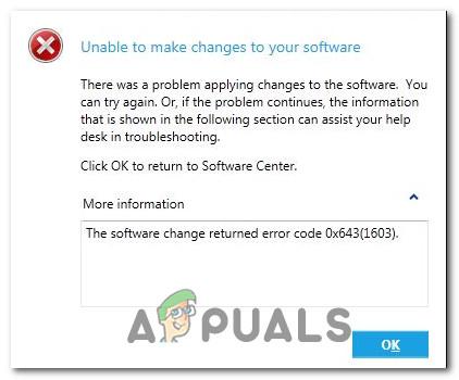 So beheben Sie den Fehlercode 0x643 unter Windows 10