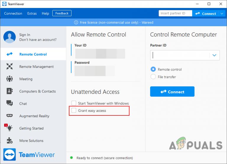 Was ist Easy Access in TeamViewer gewähren und ist es sicher?