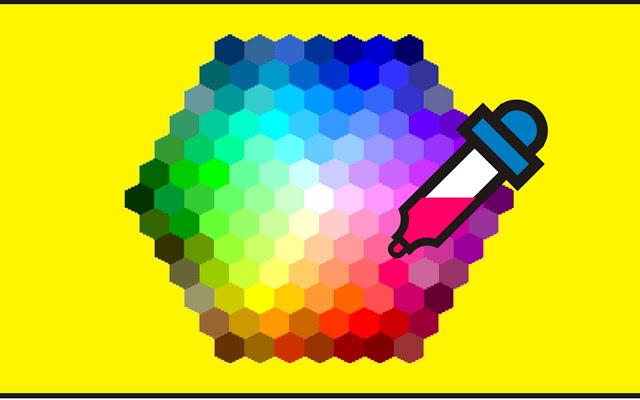Wie wählt man einen Farbcode aus einem beliebigen Bild aus?