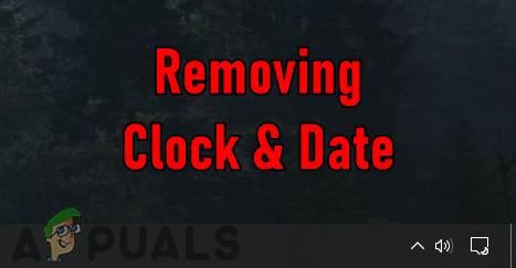 So aktivieren/deaktivieren Sie Uhr und Datum im Systembenachrichtigungsbereich in Windows 10?