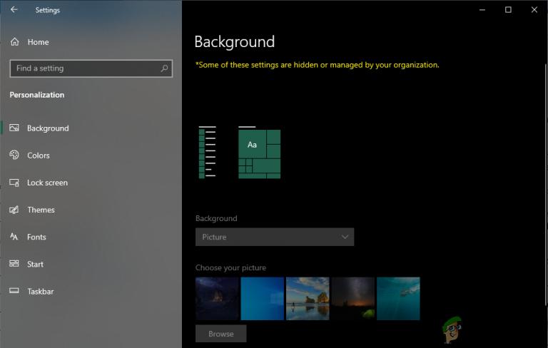 So verhindern Sie, dass andere Benutzer den Hintergrund Ihres Windows 10 ändern