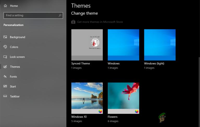 Wie kann man verhindern, dass Benutzer das Design in Windows 10 ändern?