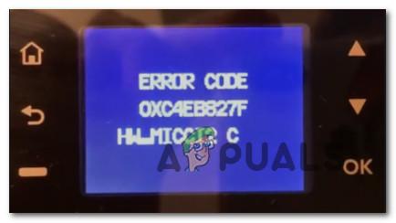 Beheben Sie den HP-Druckerfehler OXC4EB827F (Fehlerbehebung)