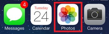 So senden Sie Bilder vom iPad oder iPhone per E-Mail