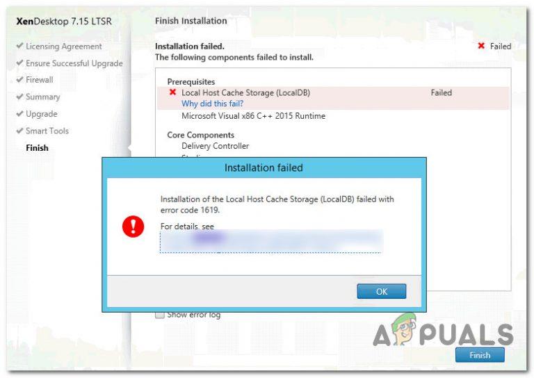 So beheben Sie den Windows Installer-Fehler 1619
