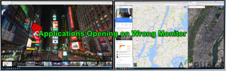 Fix: Windows öffnet Programme auf dem zweiten Monitor anstelle des Hauptmonitors