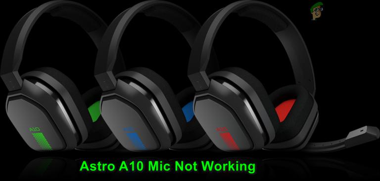 Fix: Astro A10 Mic funktioniert nicht