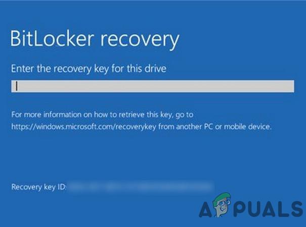 Fix: BitLocker-Wiederherstellungsschlüssel nicht gefunden
